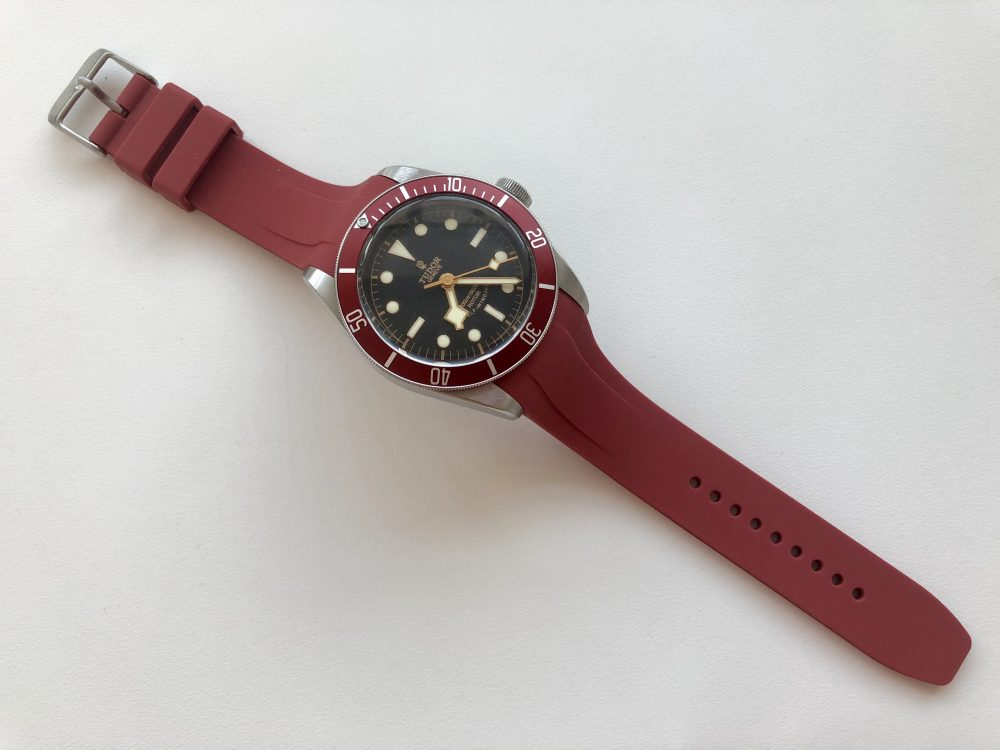 Red Vanguard on Tudor Black Bay
