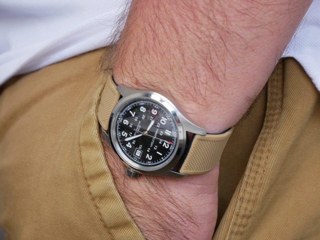 Spending Time Hamilton Khaki Field Automatic Wristworthy