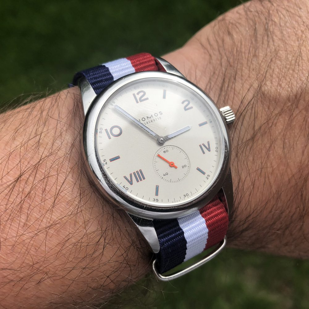 red white & blue NATO