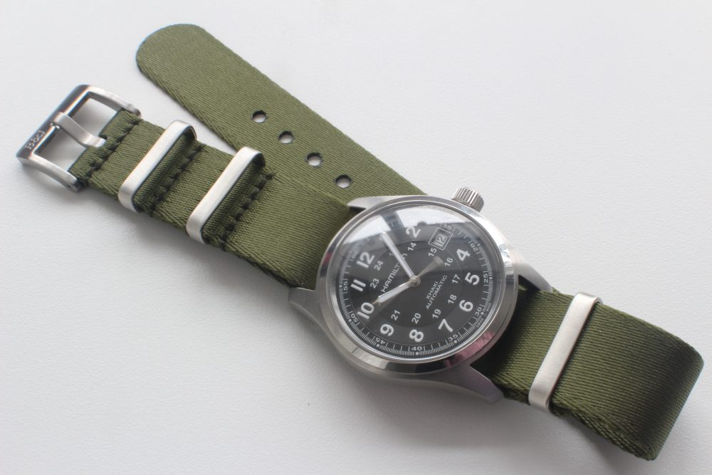 Bark&Jack Green NATO on Hamilton Khaki